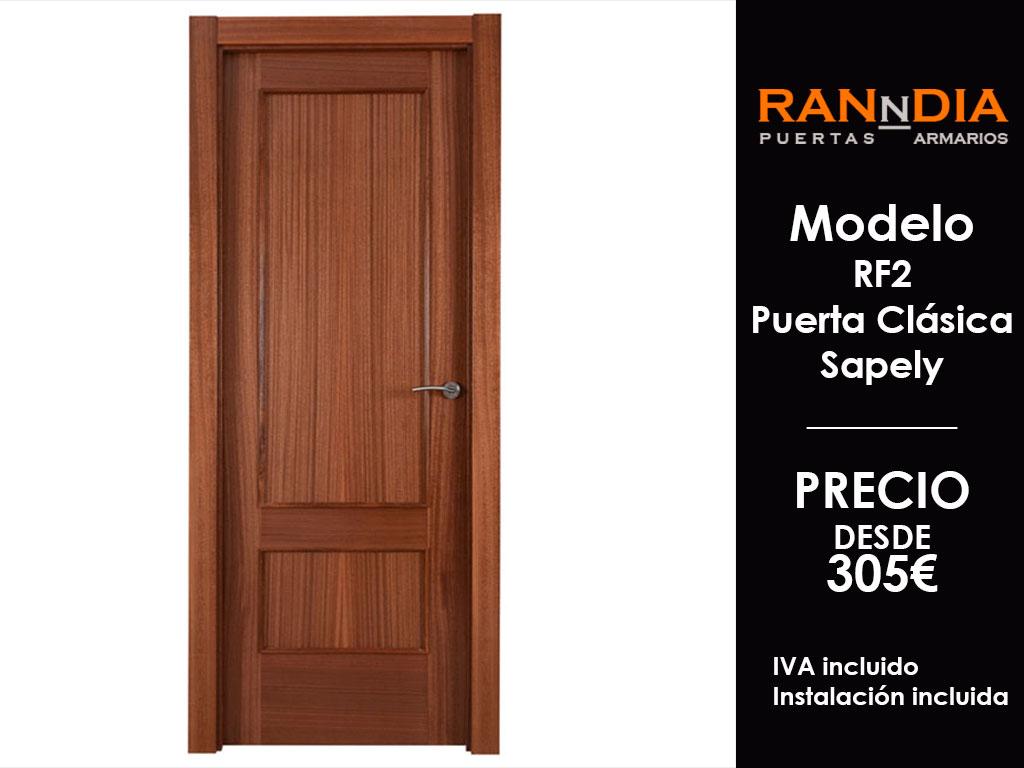 Puertas de madera en malaga Precio puertas de paso